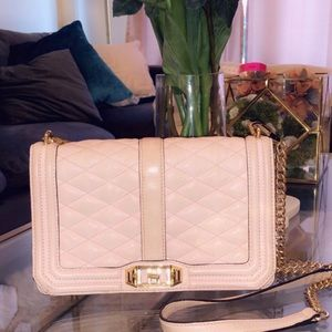 Rebecca Minkoff Quilted Pink Bag